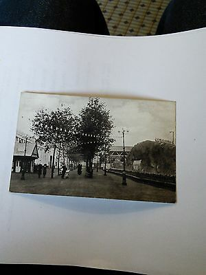 Imperial Services Exhibition Postcard Avenue to Entrenched Camp Earls Court 1913
