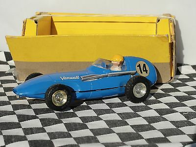 Scalextric 1960's Vanwall #14  C55  Blue 1.32  Used Part Boxed