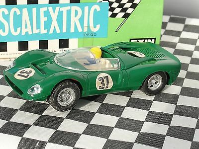 Scalextric 1970's Spanish Ferrari Gt330  #37  C41  Green 1.32  Used Boxed