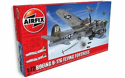 Airfix 1/72 New Tooling Boeing B17G Flying Fortress A08017
