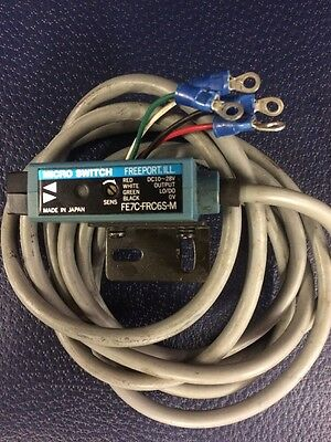 (M5) 1 MICRO SWITCH FE7C-FRC6S-M PHOTOELECTRIC With Cable
