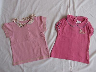 lot 2 tee shirts, fille taille 6 mois