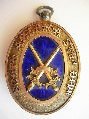 A  Masonic Silver Gilt Past Provincial Collar Jewel From South America
