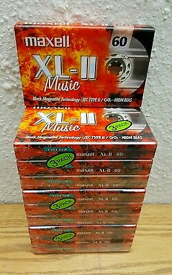 Maxell Xl-Ii 60 (×10) : New & Sealed