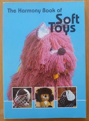 HARMONY SOFT TOYS TO MAKE - KNITTING CROCHET & SEWING PATTERN Book