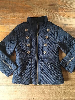 Size Age 5-6 Girl's Next Navy Quilted Jacket Autumn/winter Rrp £60
