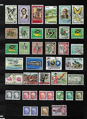 JAMAICA stamp selection.(ref.482)