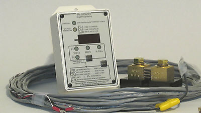Bogart TriMetric 2030-RV Solar RV Battery Monitor Meter w/ 500 Amp Shunt & Cable