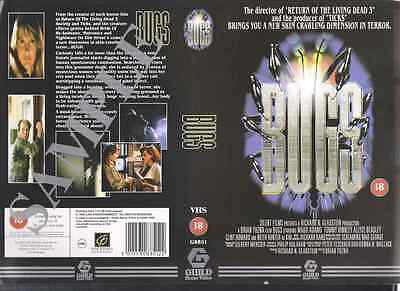 Bugs, Sci-Fi, Horror VHS Video Promo Sample Sleeve/Cover #8517