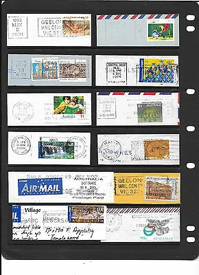 Foreign postmark slogans approx 380