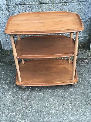 Fine Retro Ercol Trolley Stand Delivery Available