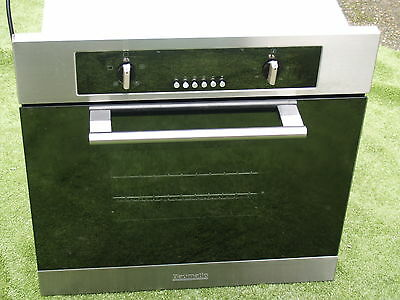 Baumatic OSF60 stainless steel and Black  built in single oven