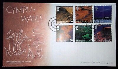 2004 Wales first day cover with longest village name special handstamp
