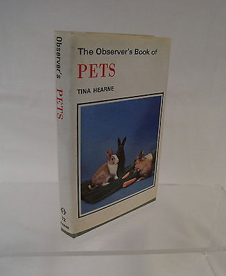 The Observer's Book of Pets: First Edition Published 1978