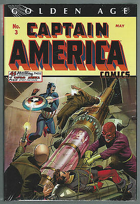 Golden Age CAPTAIN AMERICA Omnibus #1  MINT / SEALED / BRAND NEW orig price $125