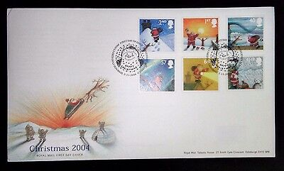 2004 Christmas first day cover with Bethlehem special handstamp