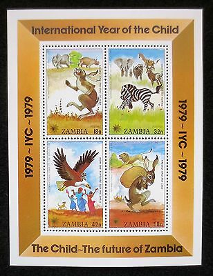 Zambia - 1979 - Year of the Child - SG MS 291 - MNH