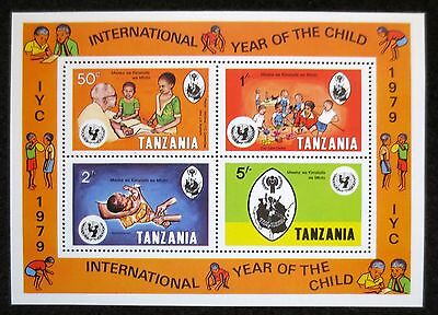 Tanzania - 1979 - Year of the Child - SG MS 267 - MNH