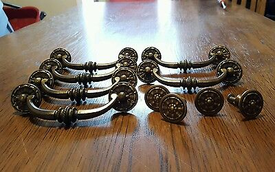 Lot of antique drawer pulls and knobs