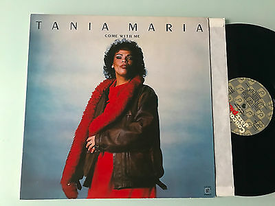 LP NM   Tania Maria ‎– Come With Me Label: Concord Jazz Picante ‎– CJP-200 Forma