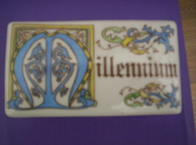China Trinket Box With Millennium On The Top