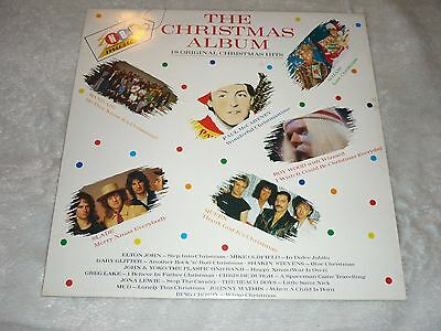1985 VINYL LP Now thats what i call music the christmas album. good condition