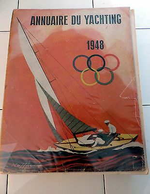 Annuaire Yachting 1948 - Regate Yacht Yachting