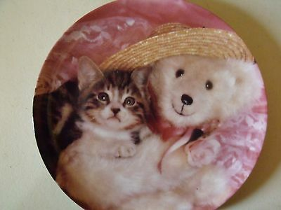 EVERYONE NEEDS A TEDDY - PICTURE PURRFECT SERIES - CRESTLEY COLLECTION with COA