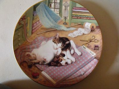 SEW TIRED from LITTLE SHOPKEEPERS by GERARDI with COA