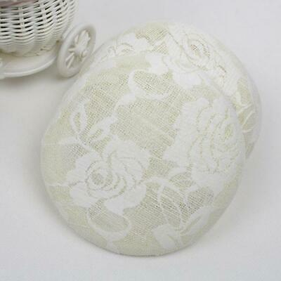 15cm Sinamay Fascinator Lace Flower Hat Base for Millinery Hat Making 3 Colours