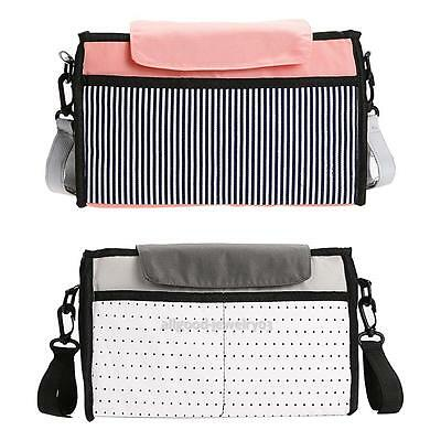 Baby Diaper Stroller Bag Capacity Mummy Bag Multifunction Nappy Changing Bags
