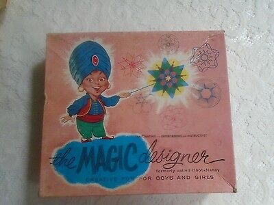 """The MAGIC DESIGNER (Formerly called HOOT-NANNY) EARLY """"SPIROGRAPH""""   ON SALE"""