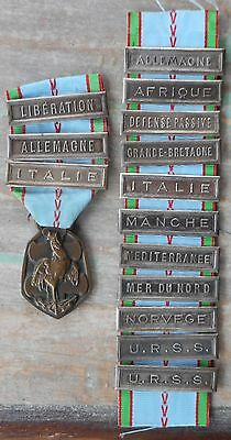 French WWII Commemorative Service Medal 1939-1945 France