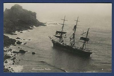 Cornish Shipwreck Alexander Yeats Canadian Gurnards Head St Ives 1896 Portland N