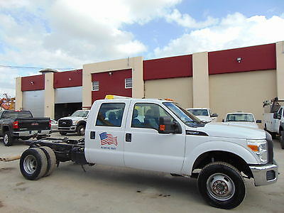 "2011 Ford F-350  2011 FORD F-350 CREW CAB 4X4 TURBO DIESEL DUALLY ""CAB & CHASSIS"" 4WD - 4 DOOR"