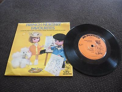 "Mr Pickwick's ""French Nursery Favourites""  MFP 9025 Vinyl in Ex Cond!"