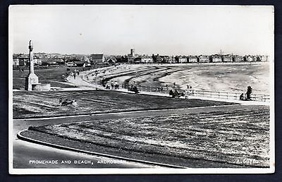 Ardrossan, Promenade And Beach, Real Photo. Unused.