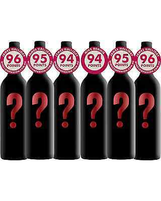 Mystery Premium Mixed Red Pack case of 6 Dry Red Wine 750mL