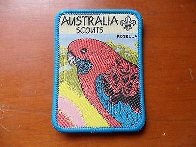 Australia Scouts Rosella Scout Cloth Badge