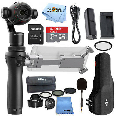 DJI Osmo+ Plus Handheld Gimbal with 4K Zoom Camera STARTER BUNDLE