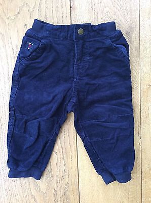 Polarn o Pyret navy corduroy baby trousers age 1 - 1.5 years (86cm)