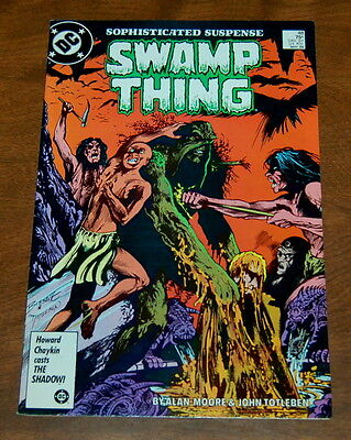 Swamp Thing #48 VF/VF+   Alan Moore  Stephen R Bissette DC Comics 1986
