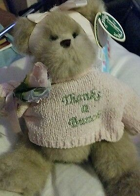 Bearington Collection Gracie Gratefull Style 1715 THANKS A BUNCH with tags