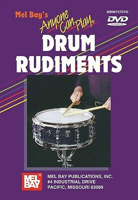 Anyone Can Play Drum Rudiments. Drums DVD (Region 0)