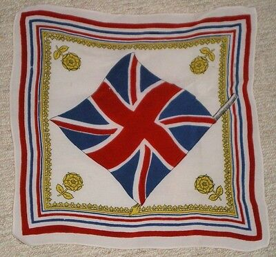 CORONATION HANDKERCHIEF ROYALTY reduced & free postage