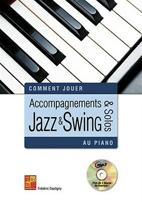 Comment Jouer Ac Jazz Swing Pf Bk/Cd. Piano Book