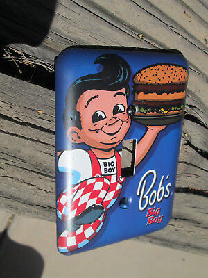 BOBS BIG BOY LIGHT SWITCH COVER W PAINTED MATCHING SCREWS Coo