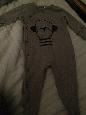 next up to 1 month Set 3 X Boys Sleep-suits
