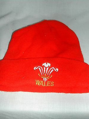 Red WRU Wales hat - one size