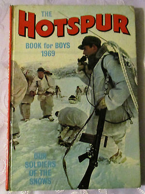 The Hotspur Book For Boys  1969 - Price Un Clipped